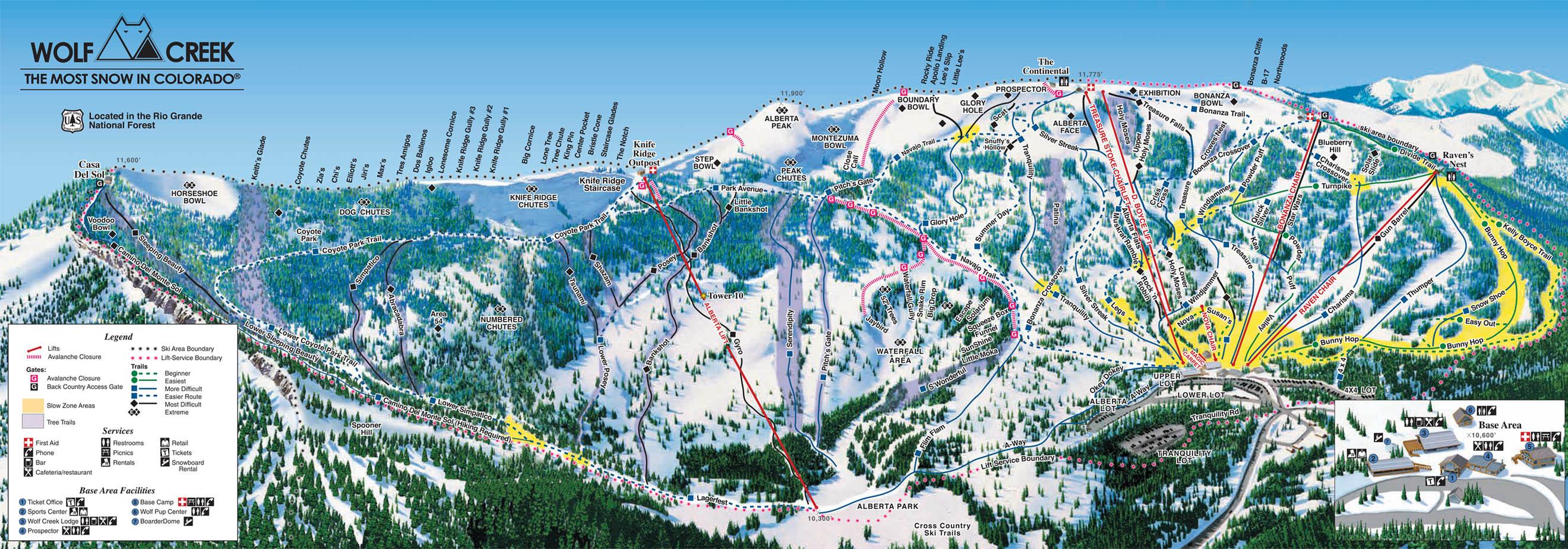 wolf creek ski resort   i love ski